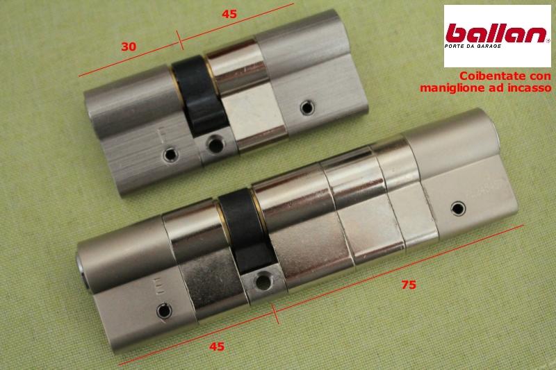 Cilindri europei di sicurezza per basculanti garage e serrande - Porta basculante per cani grandi con microchip ...