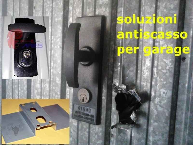 Sicurezza in garage serrature e rinforzi per basculanti for Porta basculante per cani fai da te