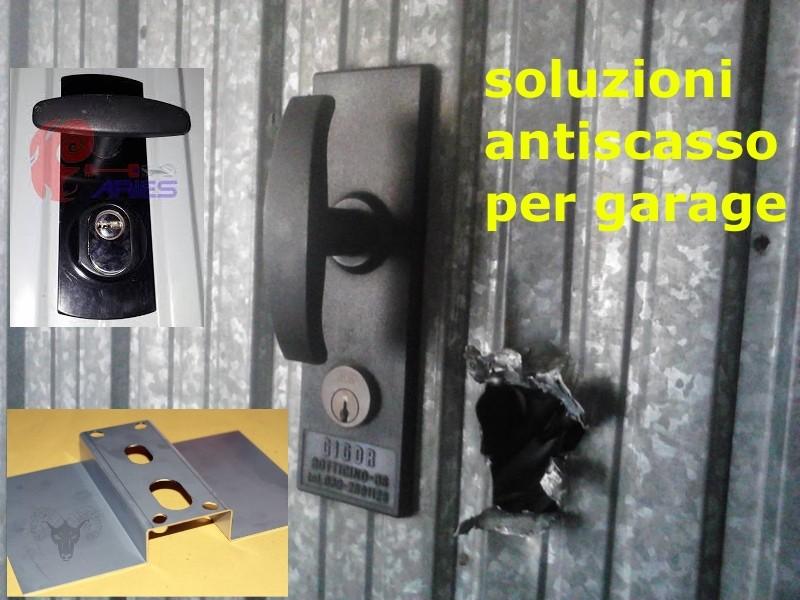 SIcurezza in garage: serrature e rinforzi per basculanti